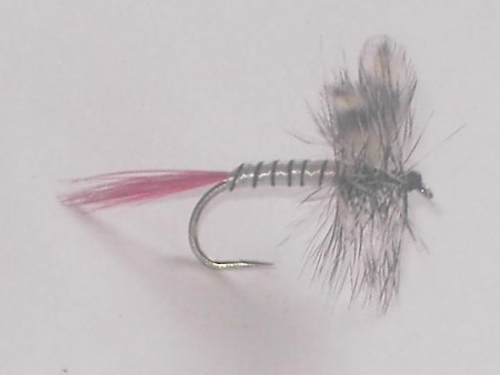 Mosquito red tail dry fly