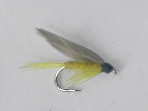 Yellow dun wet fly