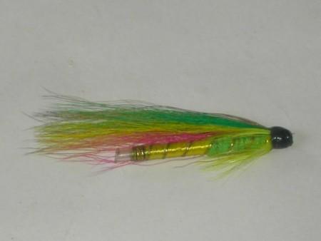Green highlander tube fly